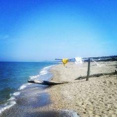 Beach at Lido di Dante, Ravenna - Instagram by newland75