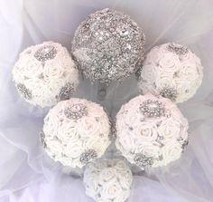 Bling Bridal Package,by Krystal Kouture Bridal Packages, Krystal, Bouquet, Bling, Brooch, Bouquets, Bunch Of Flowers, Crystal, Brooches