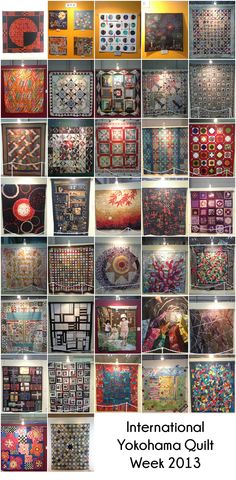 International Yokohama Quilt Week: The Quilts
