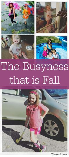 Townsend House: The Busyness that is Fall: