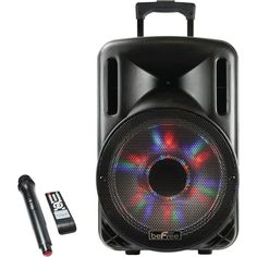beFree Sound - BFS-4435 Wireless Portable PA System - Black, 91595926M