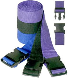 A textured cotton yoga strap can assist any yogi in reaching far away arms and legs in any pose. Not only will cotton straps help improve flexibility and alignment, they can help you achieve poses that would otherwise be impossible to achieve. Our 8' Strap is a perfect length and will give even tall yogis more than enough strap to work with (but not too much). At an inch and a half wide, our straps are both easy to grab and they won't restrict blood flow.