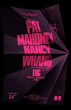 Pat Mahoney / Nancy Whang DJ Set poster