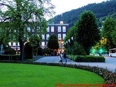 Bergen in the night