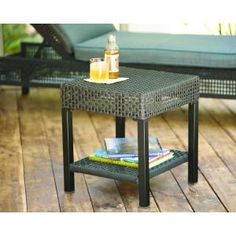 Hampton Bay Fenton Side Table.