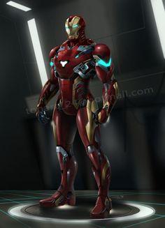 ironman new suit, tanat fakon on ArtStation