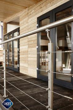 Architecture & Design. Lodge House Lacet Alaska - Siberian Larch Cladding. Mobil Home & Chalet