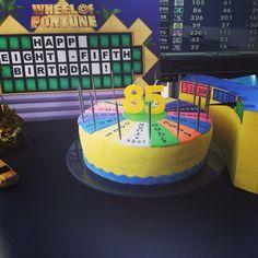 Wheel of Fortune Cake
