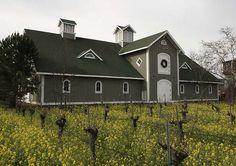 Valley Architects, Corison Winery, St. Helena, California