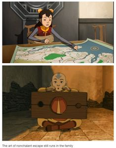 Legend of Korra/ Avatar the last Airbender: Some things run in the family I guess