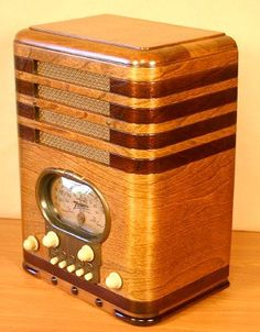 "1930's  Radio, We listened to  Fibber McGee & Molly, The Shadow, The Whistler.  Baseball games with Grandpa, The Lone Ranger, Saturday night Louisiana Hayride, (""this is WBRZ in Baton Rouge, Louisian!"") And static :)"