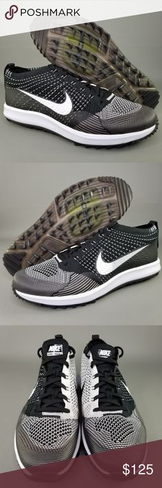 bb28f8b76fa6 Nike Flyknit Racer G Mens Spikeless Golf Shoes 11 Nike Flyknit Racer G Men s  Spikeless Golf