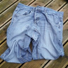 How to give old jeans a new lease of life, by patching holes!