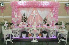 Decoração de Festa Bailarina