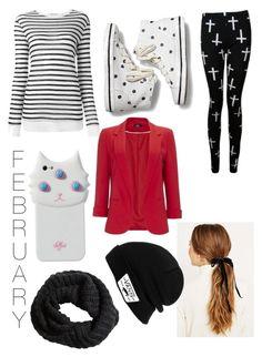 """""""February Outfit"""" by unicorn-narwhal ❤ liked on Polyvore featuring Alexander Wang, Keds, Wallis, Vans, Valfré, H&M, women's clothing, women, female and woman"""