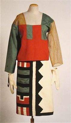 Sophie Taeuber-Arp: Hopi Indian Costume, 1922.