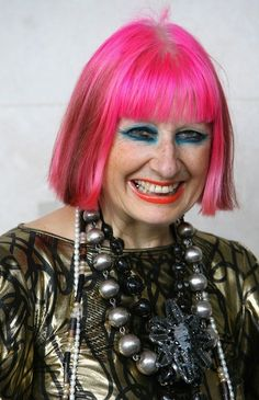 """""""I am tired of good taste. I want to do everything wrong and get a result that is valid and of value as well."""" – Zandra Rhodes"""