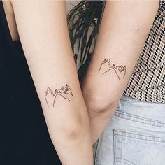 Cute best friends tattoo