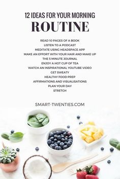 Want to create a healthy daily habit or replicate the habits of successful people? An easy routine is the perfect way to start! Get relatable tips and advice to create your personalised morning routine. Don't forget it only takes 21 days to make a habit! Healthy Meal Prep, Healthy Habits, Healthy Tips, Healthy Recipes, Healthy Day Routine, Good Habits, Living A Healthy Lifestyle, Get Healthy, Healthy Lifestyle Changes
