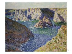 The Rocks of Belle Ile, 1886 Giclee Print by Claude Monet at AllPosters.com