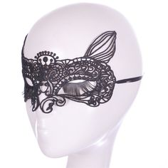Amazon.com: Bestwoohome Hollow Lace Eye Mask Veil fox Shape for Halloween…