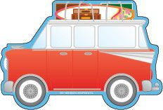 Large Notepad - Beach Buggy