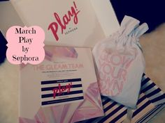 March Play by Sephora Unboxing