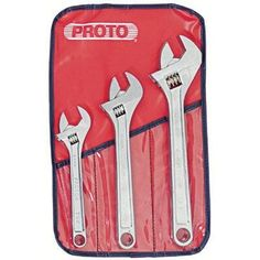 Stanley Proto J795 Proto 3-Piece Adjustable Wrench Was: $127.62 Now: $76.90
