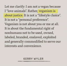 I do it because I love animals but there is definitely more to it.