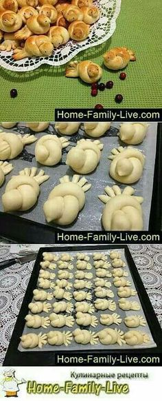 Hermosos panecillos