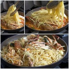 Αστακομακαρονάδα & τα Μυστικά της Seafood Recipes, Pasta Recipes, Cooking Tips, Cooking Recipes, Greek Recipes, Allrecipes, Food Processor Recipes, Risotto, Spaghetti
