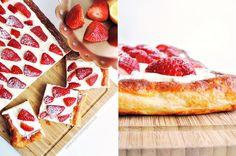 Strawberry Lemon Cream Tart - Ein Hauch von Frühling