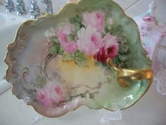 bunny cottage: Pink Saturday/Prayer for the people of Haiti. Antique Dishes, Vintage Dishes, Antique China, Vintage China, Vintage Tea, Fancy Dishes, Antique Plates, Porcelain Ceramics, China Porcelain