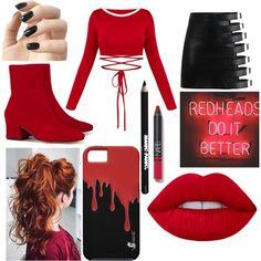 Fashmates Outfit Inspiration: Cheryl Blossom - Cheryl Blossom Source by Spiritmix - Bad Girl Outfits, Edgy Outfits, Teenager Outfits, Classy Outfits, Outfits For Teens, Cool Outfits, Fashion Outfits, Cheryl Blossom Riverdale, Riverdale Cheryl
