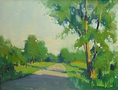 Park Road by James Richards Oil ~ x