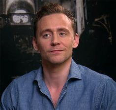 """fresh-hell-mel: """" No, Tom, we don't understand why you make that adorkable winky squinty face, but it's okay. Your smile is sweeter than kittens and rainbows. That face… Seriously, he could tell me he..."""