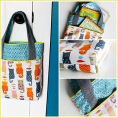 Library Pocket Tote Bag