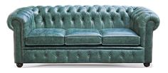 Our traditional Farnworth 3 seater Chesterfield sofa ordered for a doctors surgery with standard cushions and front buttoned boarder with double row of buttons and extra 15cm wider frame. Handmade in Aniline Bottle Green leather and Mahogany wood bun feet. Solid hardwood frame, nail-head trim individually placed by hand. Finished in Aniline Bottle Green leather that is 100% Top Grain Leather that carries a Lifetime Guarantee. Handcrafted in England by time served artisans.