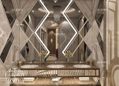 Beautiful Bathroom Design by Algedra Modern Home Interior Design, Bathroom Design Luxury, Residential Interior Design, Interior Exterior, Modern Design, Bathroom Designs, Toilet Design, Diy Bathroom Remodel, Beautiful Bathrooms