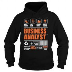 Business Analyst - #hooded sweatshirts #t shirts for sale. I WANT THIS => https://www.sunfrog.com/LifeStyle/Business-Analyst-95217396-Black-Hoodie.html?60505