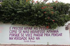 reflexões de vida escritas nos muros - Pesquisa Google