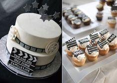 Wedding cake et sweet bar, mariage cinéma