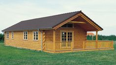 Log Home Design Plan and Kits for Winter Camp