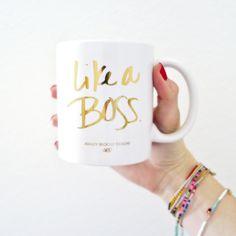 {New in Shop!} Like A Boss Coffee Mug   ABD