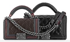 119ec3cf6087 20 Best Chanel Boy with Top Handle images | Chanel bags, Chanel boy ...