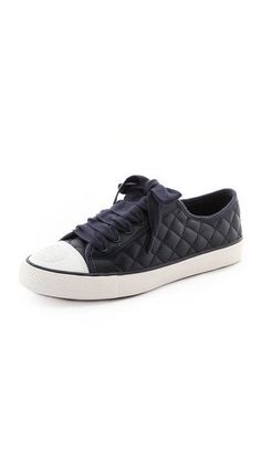 Trendy Womens Sneakers : Tory Burch Marin Quilted Sneakers
