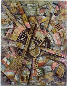 "Carra: ""Free-Word"" Painting (Patriotic Celebration) 1914"