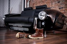 Luxury Furniture Collection Made by Real Car Parts