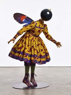 Yinka Shonibare's Ballerina Goddesses In African Print Tutus