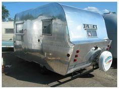 176 best modern campers images vintage rv vintage travel trailers rh pinterest com